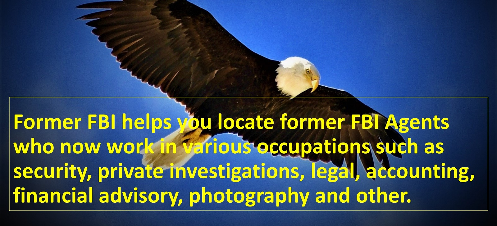 Former FBI Eagle Intro